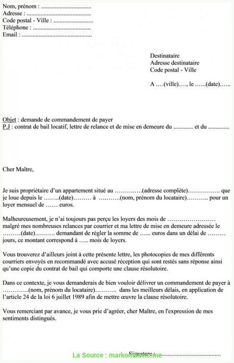 De Valeur Lettre De Préavis Remise En Main Propre Modèle Lettre ...