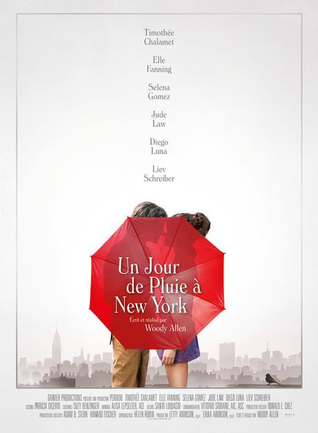 Un Jour de Pluie à New York au Cinéma le 18 Septembre
