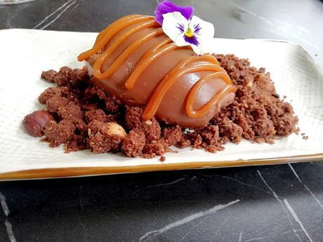 Ganache chocolat, caramel fleur de sel © Gourmets&co