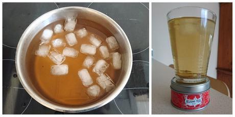 Thé glacé de l'été