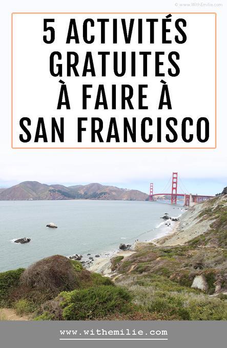 5 activités gratuites à faire à San Francisco