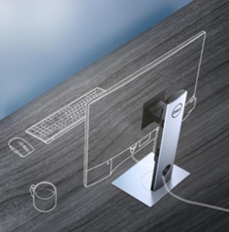 Dell présente #OptiPlex l'ordinateur de bureau sans encombrement le plus modulaire !