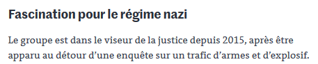 Blood and Honor ?  Le déshonneur dans le sang… #NONazis