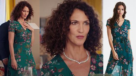DEMAIN NOUS APPARTIENT : la splendide robe verte de Clémentine dans l'épisode 535