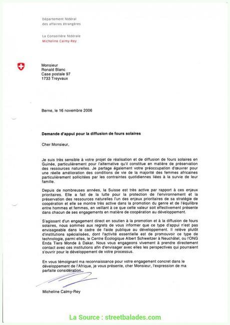 Haut Exemple De Lettre De Demande D'Aide Financière Pour Un Projet 8 ...