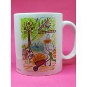 Mug Prénom avec dessin original Lily la Plume 9