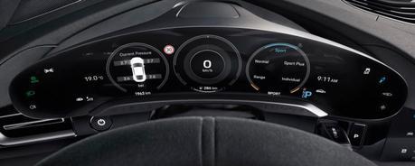 Porsche Taycan: l'intérieur