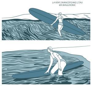 Surf sur une vague de chagrin