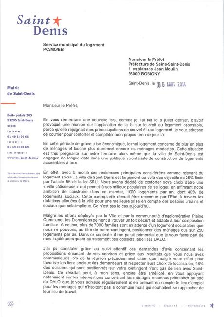 Lettre De Relance Pour Une Demande De Logement Paperblog