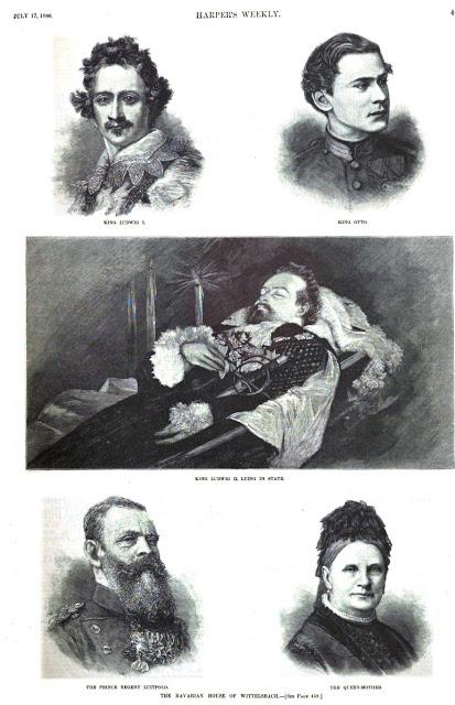 The Bavarian house of Wittelsbach - Harper's Weekly 17. Juli 1886