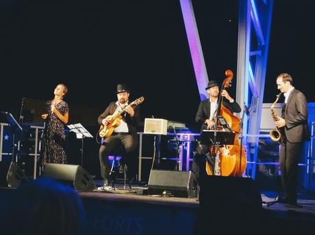 The Gatsbys lors du Festival Jazz sur la Mer à St Brieuc pour les jeudis du jazz au Légué - Halle du Bélem à Saint-Brieuc, le 22 août 2019