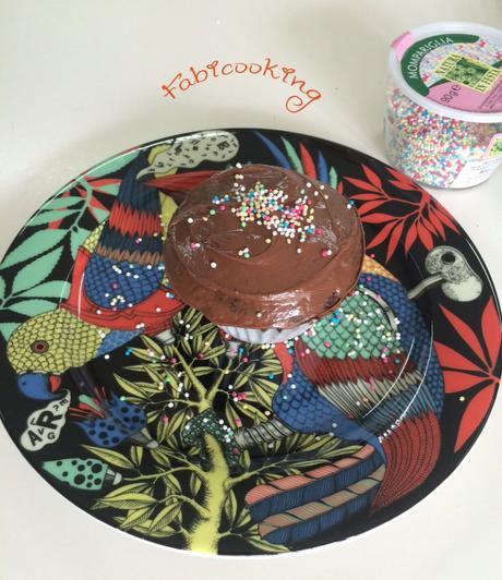 Cupcake tout chocolat de Lucia