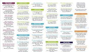 Centre Val de Loire semaine du 24 au 31 Août 2019