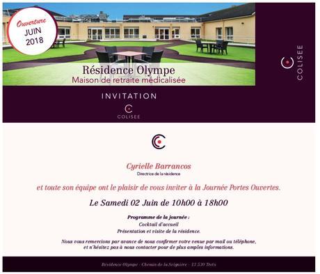 Ville de Trets Invitation journée portes ouvertes résidence Olympe ...