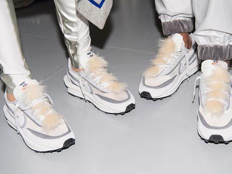 Les zippers et empiècements en fourrures des Nike x Sacai dropperont en quantités très limitées