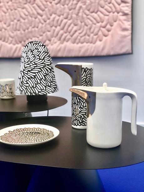 nest collection art de la table carafe forme oiseau Ionna Vautrin clematc