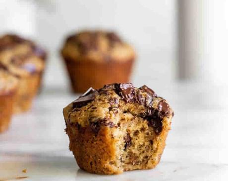 Recette muffins aux pépites de chocolat ww
