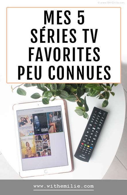 Mes 5 séries TV favorites peu connues