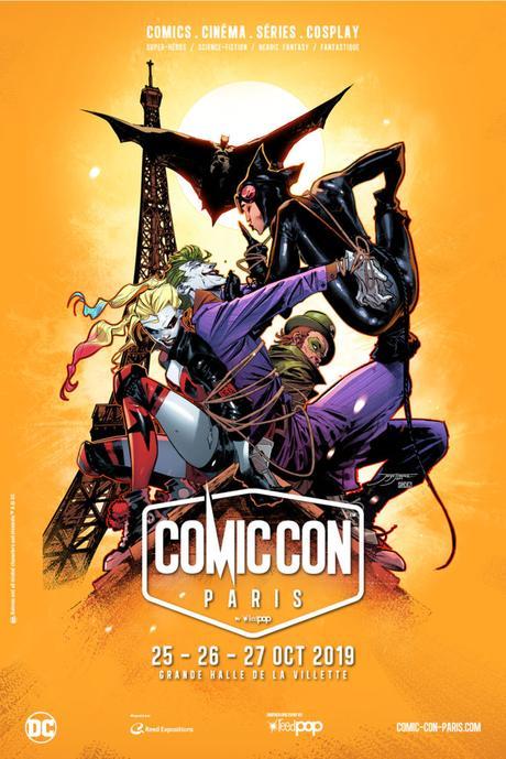 Comic Con Paris 2019 – L'affiche dévoilée