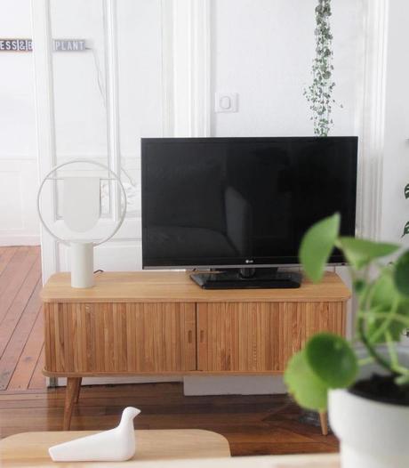 meuble télé zuiver bois pilea oiseau bois vitra La loutre scandinave - blog clemaroundthecorner