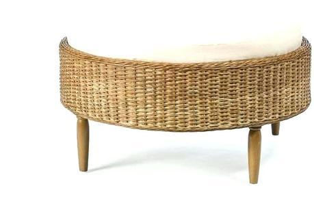 rattan ottoman coffee table wicker coffee table wicker coffee table with glass top wicker coffee table