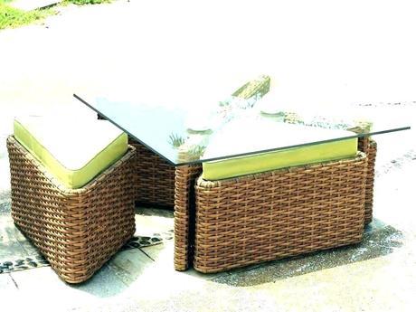 rattan ottoman coffee table woven ottoman coffee table round woven coffee table round woven