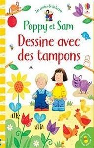 Sam Taplin / Dessine avec des tampons – Poppy et Sam