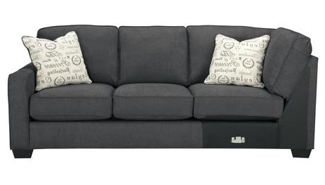 ashley alenya sofa signature design by ashley alenya charcoal sofa and loveseat