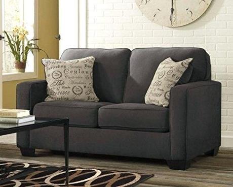 ashley alenya sofa ashley alenya charcoal sofa