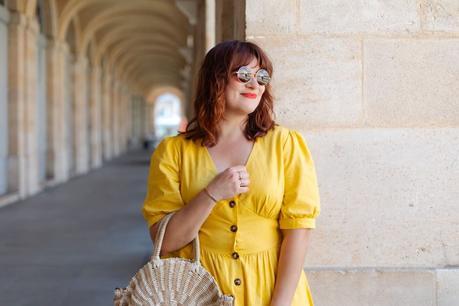 Ma robe jaune de l'été