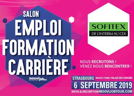 Sofitex Strasbourg recrute plus de 100 postes !
