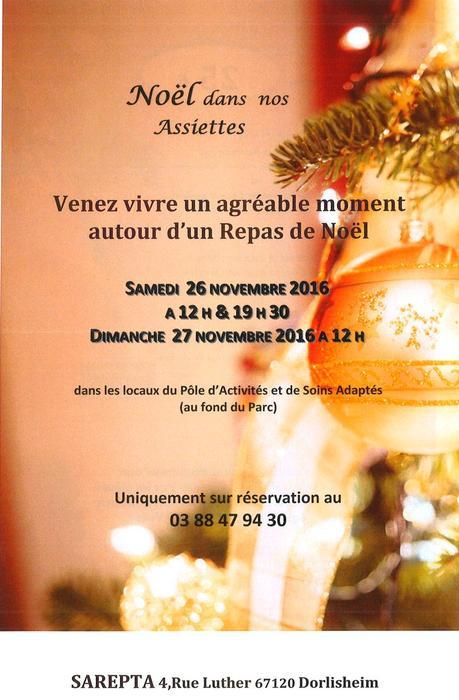 Invitation Repas De Noel Paperblog