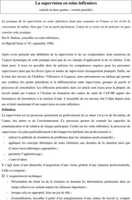 Projet Professionnel Infirmier Paperblog
