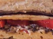 Smoky grilled veggies, rich tapenade, tangy goat cheese make these sandwiches hearty satisfying. friend mine made loved them. next week, craving delicious sandwiches.
