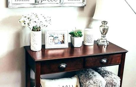 console table decor ideas rustic console table decor ideas