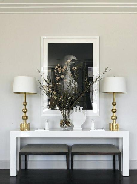console table decor ideas modern console table decor ideas