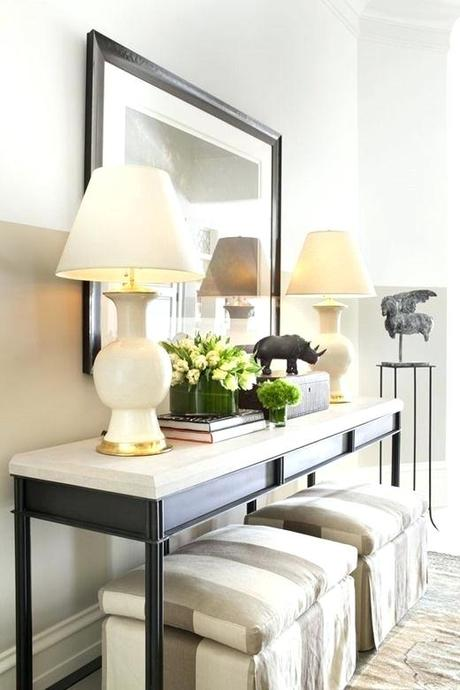console table decor ideas farmhouse console table decor ideas