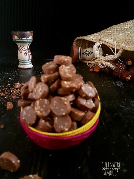 Fkakes d'Achoura au chocolat