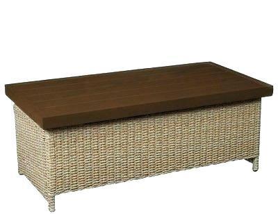 wicker outdoor coffee table brown plastic wicker outdoor furniture bay lemon grove trunk table s