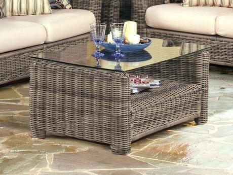 wicker outdoor coffee table wicker coffee table with storage brilliant best tables images on in 7