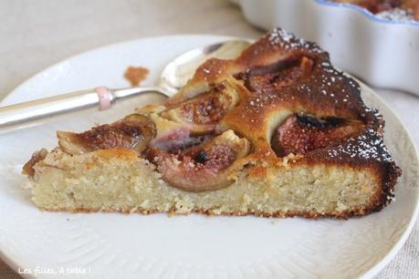 Gâteau aux figues et amandes d'Ottolenghi