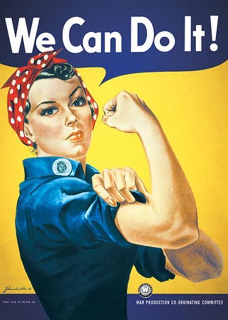 we can do it poster déco féministe - blog déco - décoration tendance clemaroundthecorner