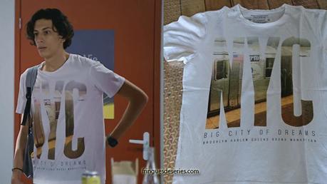 PLUS BELLE LA VIE : le t-shirt d'Eddie dans l'épisode 3879