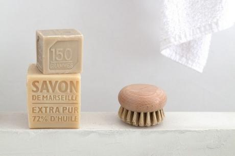 Brosse bain corps soie bois Andrée jardin rétro vintage salon maison et objet septembre 2019