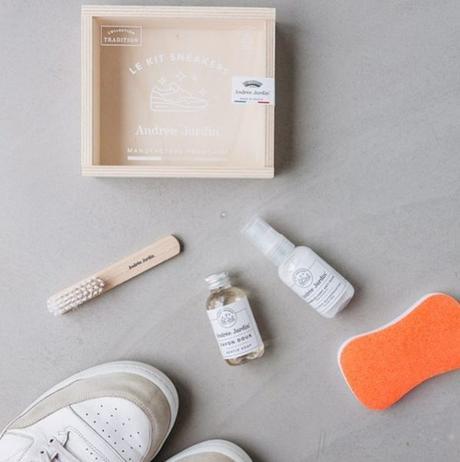 kit entretien chaussure nettoyage basket tennis écolo écoresponsable - blog déco - clem around the corner