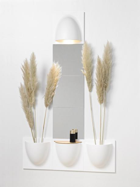 Vertiplants meuble mural salle de bain studio étudiant malin miroir rangement - blog déco - clem around the corner