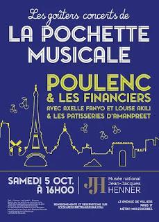 Des goûters en musique avec la Pochette Musicale