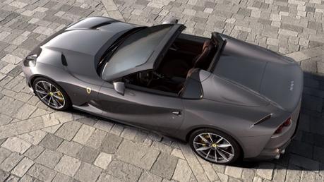 Ferrari 812 GTS Spider: le frisson