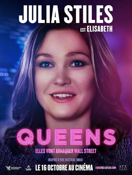 Affiches personnages VF pour Queens de Lorene Scarafia
