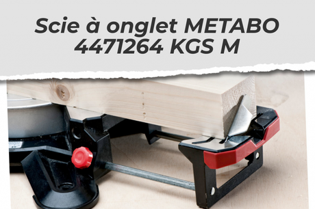 Scie à onglet METABO 4471264 KGS M